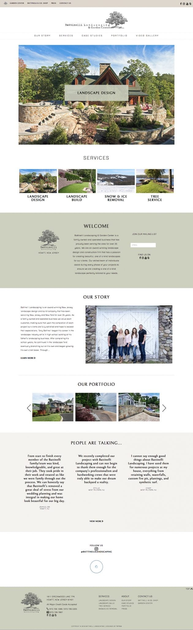 new york responsive web design portfolio